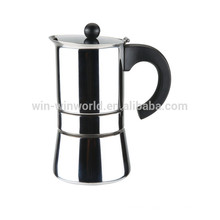 Stainless Steel European Espresso Coffee Marker And Mug Sets 9 Cup